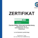CBU – Zugelassener Träger nach dem Recht der Arbeitsförderung (AZAV)